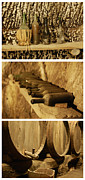 Wine Cellar Photos - Italian Wine Cellar by Marino Colmano