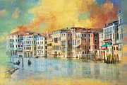 Villa Paintings - Italy 02 by Catf