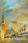 National Park Paintings - Italy 03 by Catf