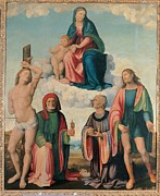 Christ Child Framed Prints - Italy, Emilia Romagna, Ravenna, Bagnara Framed Print by Everett