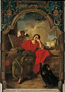 St John The Evangelist Metal Prints - Italy, Veneto, Venice, San Martino Metal Print by Everett