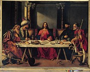 Last Supper Photo Posters - Italy, Veneto, Venice, San Salvador Poster by Everett