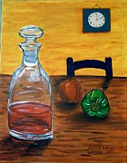 Vinegar Painting Framed Prints - Its 2 Oclock somewhere Framed Print by Randolph Gatling