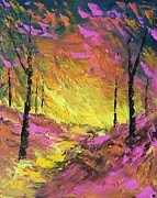 Pathway Paintings - Its A Colorful Life by Steven Lebron Langston