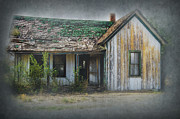 Haunted House Photo Posters - Its  A Long Story Poster by Sandra Bronstein
