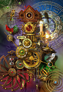 Cogs Posters - Its About Time Poster by Ciro Marchetti