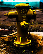 Fire Hydrants Prints - Its Called Yellow Print by Digital Kulprits
