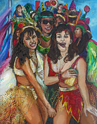 Girls Mixed Media - Its Carnival Time by Melanie Alcantara Correia