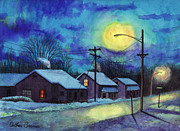 Arthur Barnes Art - Its Cold Outside. by Arthur Barnes