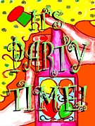 Seasonal Prints Posters - Its Party Time Poster by Patrick J Murphy