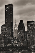 The Chrysler Building Nyc Prints - Its Relative  Print by JC Findley