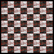 Coca-cola Sign Art - Its Your Move - Coca Cola Checkerboard by John Stephens