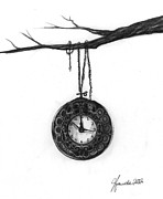 Clock Drawings - Its Your Time by J Ferwerda