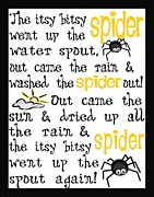 Itsy Bitsy Spider Framed Prints - Itsy Bitsy Spider Framed Print by Jaime Friedman