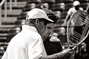 Wimbledon Photo Posters - Ivan Lendl and Andy Murray  Poster by Nishanth Gopinathan