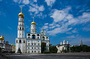 Archangel Photo Prints - Ivanovskaya Square Of Moscow Kremlin Print by Alexander Senin