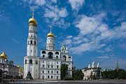 Archangel Photo Prints - Ivanovskaya square of Moscow Kremlin - Featured 3 Print by Alexander Senin