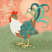 Rooster Mixed Media - Ive Got To Crow by Valerie  Drake Lesiak