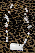Old Jewelry Originals - Ivory Fish Koi Pendant Necklace for Good Luck by Barbara Anna Knauf