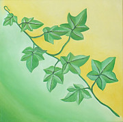 Buero Paintings - Ivy by Sven Fischer
