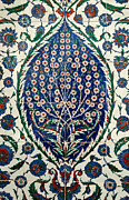 Ceramic Tile Prints - Iznik 07 Print by Rick Piper Photography