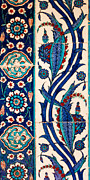 Ceramic Tile Prints - Iznik 08 Print by Rick Piper Photography