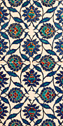 Ceramic Tile Prints - Iznik 09 Print by Rick Piper Photography