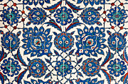 Ceramic Tile Prints - Iznik 13 Print by Rick Piper Photography