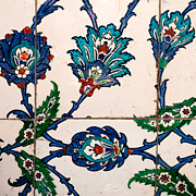 Ceramic Tile Prints - Iznik 22 Print by Rick Piper Photography