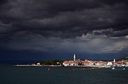 Slovenia Photos - Izola in the eye of a storm by Graham Hawcroft pixsellpix