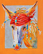 Macho Paintings - Jack Burro by Deb  Harclerode
