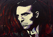 Counterculture Painting Framed Prints - Jack Kerouac Framed Print by Kevin J Cooper Artwork