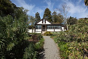 Picket Fences Photos - Jack London Cottage 5D22120 by Wingsdomain Art and Photography
