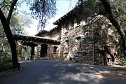 Stone Buildings Photos - Jack London House of Happy Walls 5D21966 by Wingsdomain Art and Photography