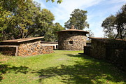Stone Buildings Photos - Jack London Ranch Pig Palace 5D22150 by Wingsdomain Art and Photography