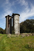 Jack London Ranch Silos 5d22161 Print by Wingsdomain Art and Photography