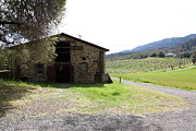 Vineyards Photos - Jack London Sherry Barn 5D22071 by Wingsdomain Art and Photography