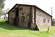 Vineyards Photos - Jack London Sherry Barn 5D22074 by Wingsdomain Art and Photography
