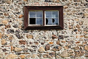Stone Buildings Photos - Jack London Sherry Barn 5D22076 by Wingsdomain Art and Photography