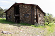 Stone Buildings Photos - Jack London Stallion Barn 5D22086 by Wingsdomain Art and Photography