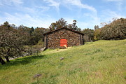 Stone Buildings Photos - Jack London Stallion Barn 5D22100 by Wingsdomain Art and Photography