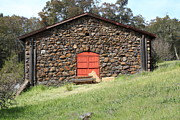 Stone Buildings Photos - Jack London Stallion Barn 5D22101 by Wingsdomain Art and Photography