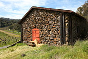 Stone Buildings Photos - Jack London Stallion Barn 5D22104 by Wingsdomain Art and Photography