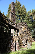 In Ruin Prints - Jack London Wolf House 5D22019 Print by Wingsdomain Art and Photography