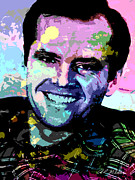 Jack Nicholson Digital Art - Jack Nicholson by Allen Glass