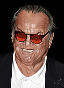 Jack Nicholson Digital Art - Jack Nicholson by Brien Miller
