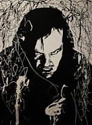 Pallet Knife Originals - Jack Nicholson by Michael Kulick