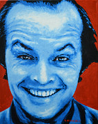 Actors Painting Originals - Jack Nicholson by Victor Minca