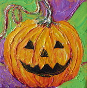 Paris Wyatt Llanso Prints - Jack-O-Lantern Print by Paris Wyatt Llanso