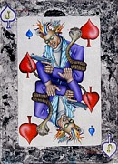 Playing Cards Originals - Jack Of Spades by John Kuhenbeaker
